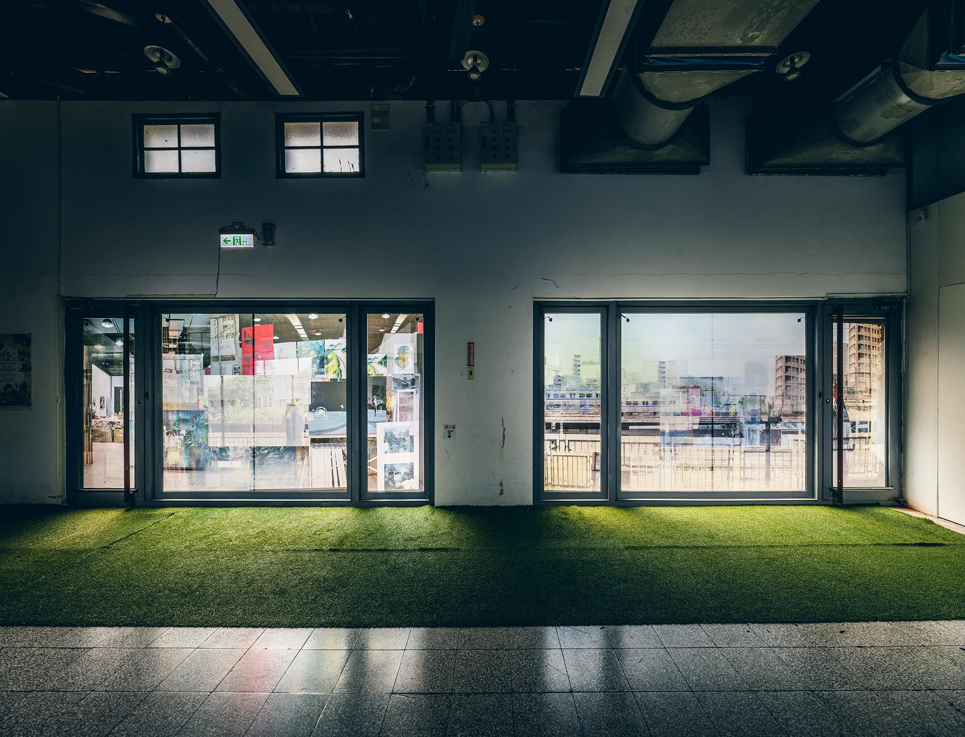 A5 4號倉庫的風景嫁接 Landscape graftage of warehouse number 4